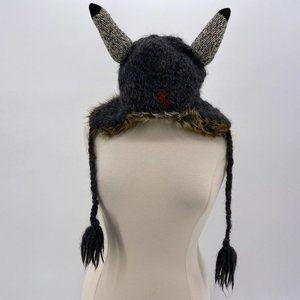 NWT American Eagle Wool Alpaca Horns Trapper Hat